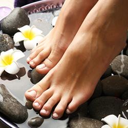 Wellness-Fußpflege