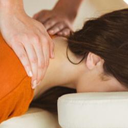 Büro-Nacken-Massage