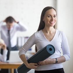 Büromassage-Firmensport